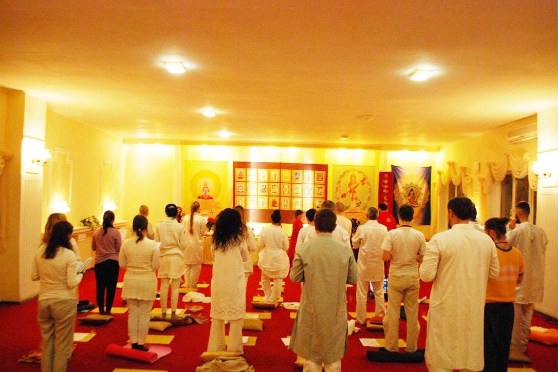 Первое занятие хатха йога